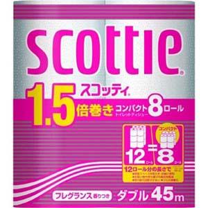 スコッティトイレット 1.5倍コンパクトW