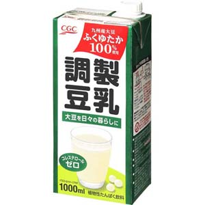 調製豆乳 <国産大豆ふくゆたか100%使用>