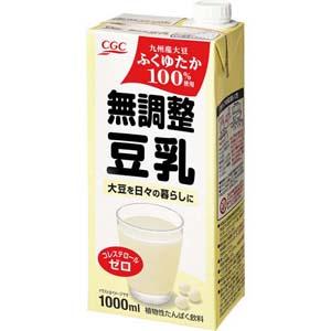 無調整豆乳 <国産大豆ふくゆたか100%使用>