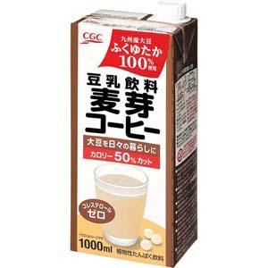 豆乳飲料麦芽コーヒー<国産大豆ふくゆたか100%使用>